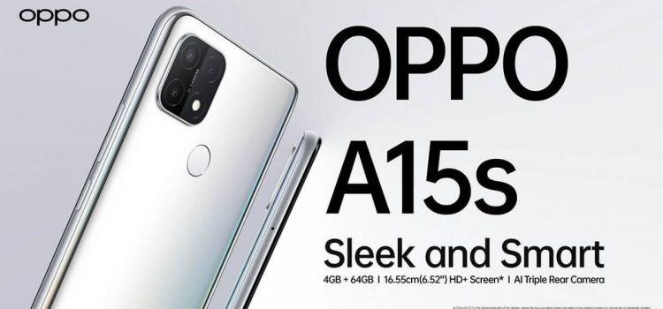 Oppo A15s